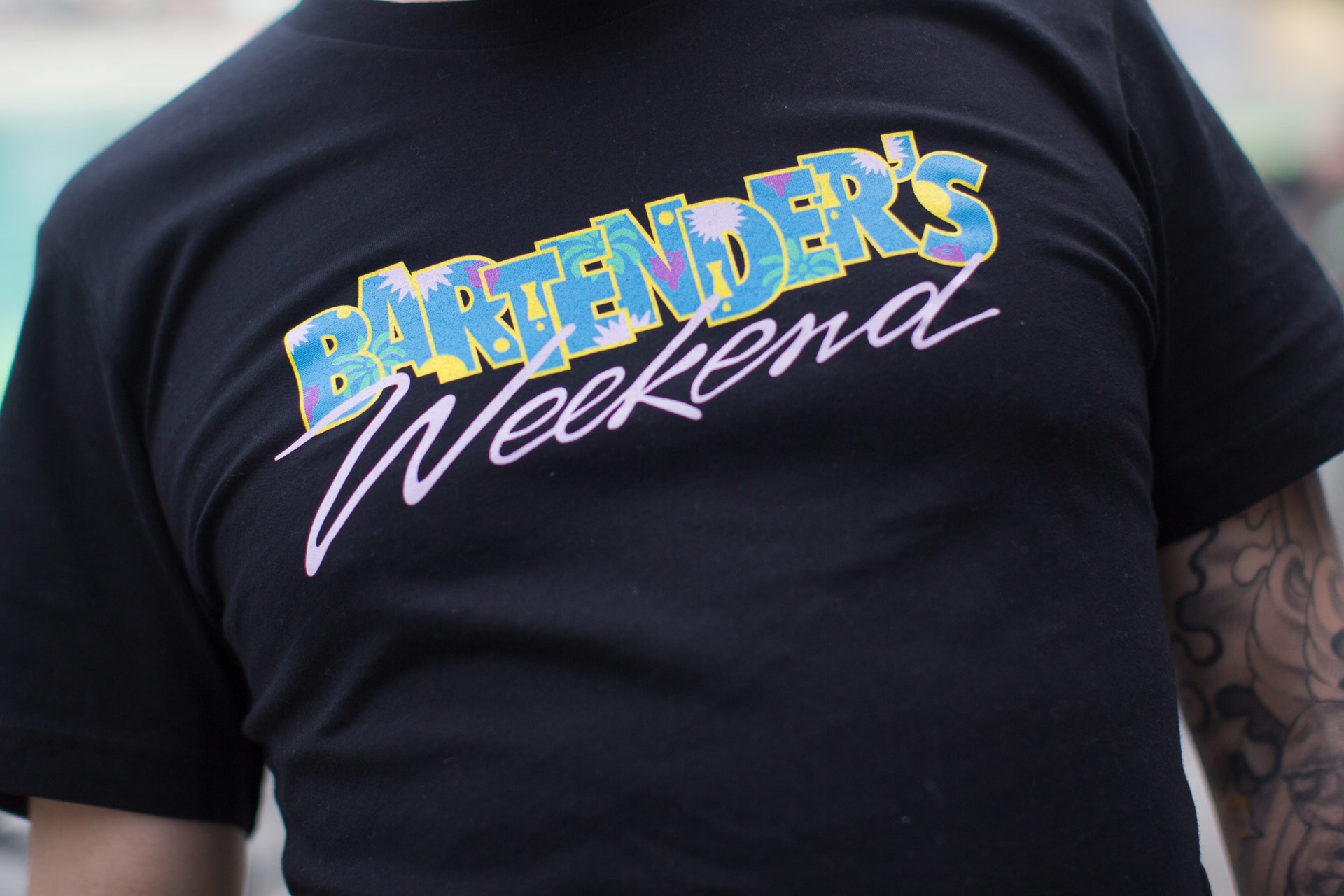 Bartender's Weekend Shirt